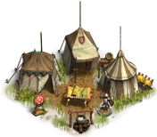 The military camp of your general